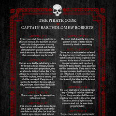 The Pirate code of Bartholomew Roberts