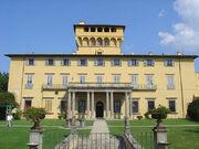 Tuscany - Taste of Tuscany - view of villa di maiano exterior