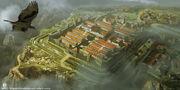 ACO Roman Fort Concept Art