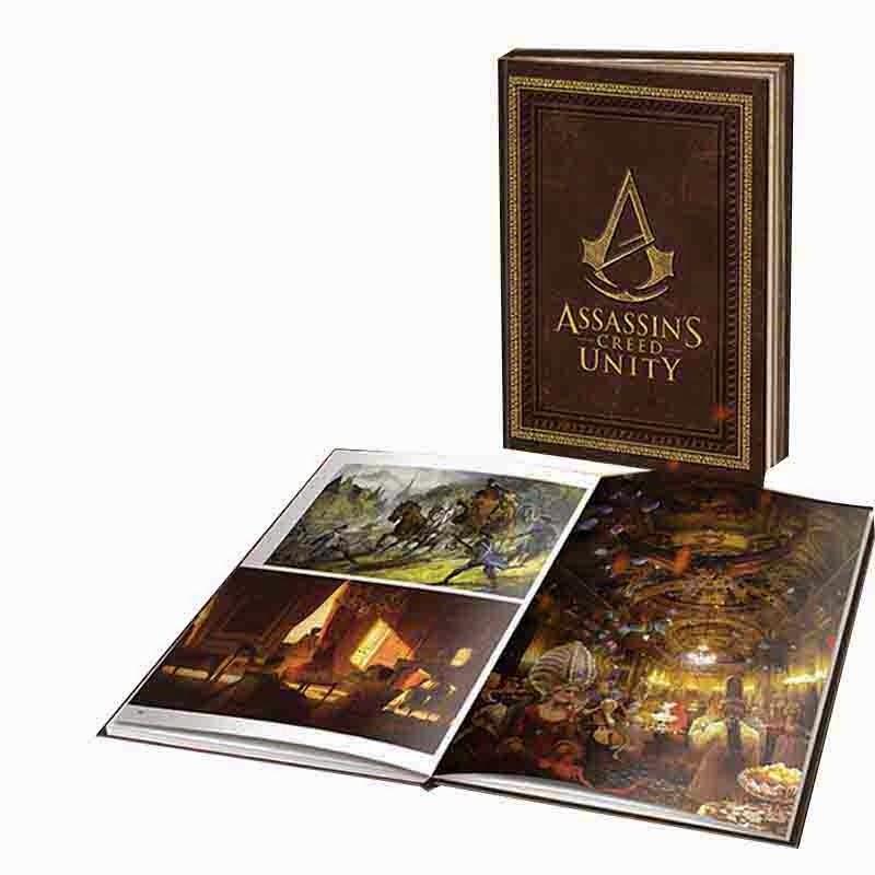 Assassins Creed Unity Collectors Edition Art Book