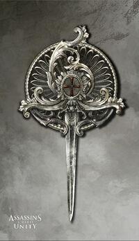 ACU Templar Pin