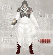 Armatura di Altaïr - Statistiche