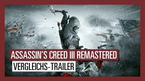 Assassin's Creed III Remastered Vergleichs-Trailer