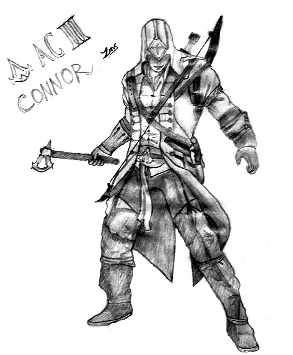 Assassin S Creed Connor Color Pages Coloring Pages