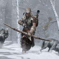 Ratonhaké:ton et des <b>Loups</b>