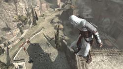 Siege of Masyaf Altair battlefield