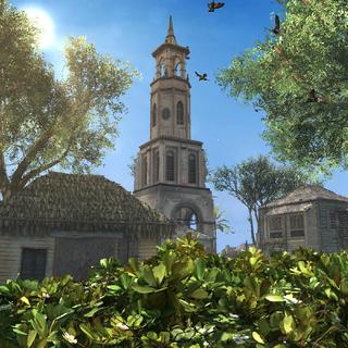 金斯敦的一座瞭望塔