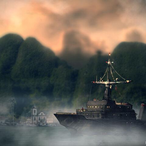 L'<i><b>Altair II</b></i> au large du <a href=