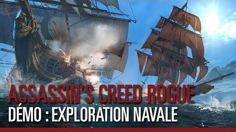Assassin's Creed Rogue - Exploration navale en Arctique - Démo de gameplay