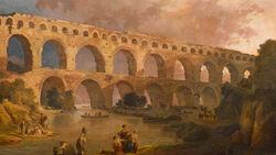 DTAE Pont du Guard Aqueduct - Hubert Robert