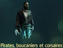 Pirates boucaniers corsaires database