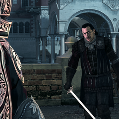 马里奥加入艾齐奥与罗德里格的战斗