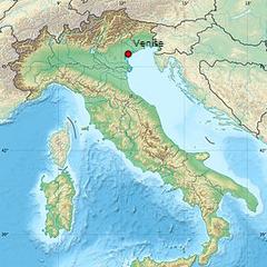 Localisation de <b>Venise</b>