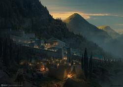 ACOD Sanctuary of Delphi Concept Art