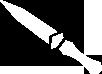 ACRO couteaux de lancer symbole