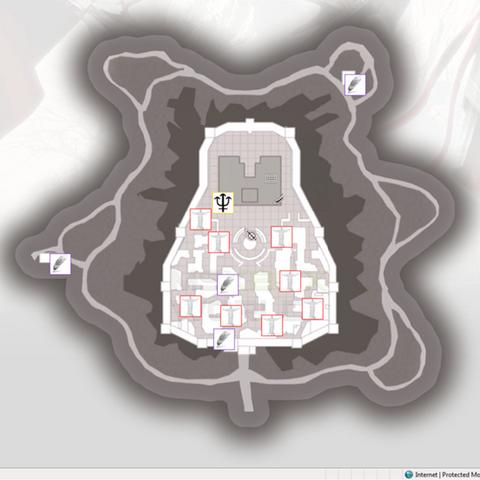 蒙特里久尼符文地图