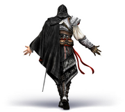 AC2 Ezio armor back render 1 by Michel Thibault