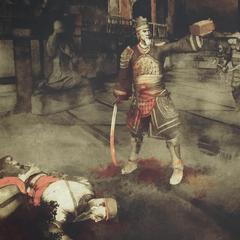 Zhang Yong tötet Wang Yangming und erhält die Schatulle