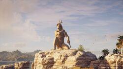 ACOD Statue of Poseidon