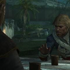 爱德华告诉施蒂德关于观测所的事情