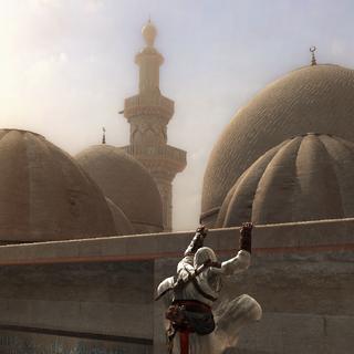 有着众多圆顶的清真寺屋顶