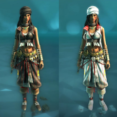 Templar and Assassin costumes for the Rebel