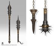 ACO Septimius' Weapon Concept Art