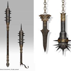 塞普提米乌斯武器的原设图