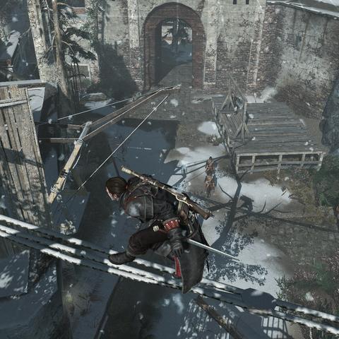 Shay infiltrant le fort d'<b>Anticosti</b>