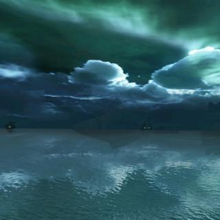 北冰洋的夜晚