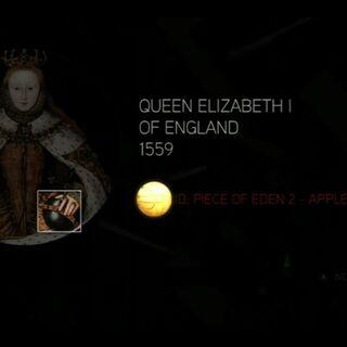 伊丽莎白一世的苹果