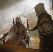 Ezio meets Altair by Gilles Beloeil
