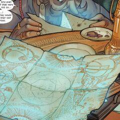 哈米德查看一张地图