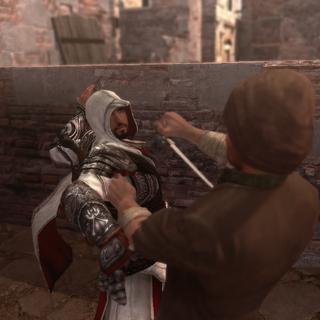 Ezio assassinant le traître