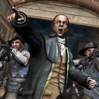 Benjamin Franklin spielt eine große Rolle