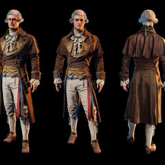 Renders of Robespierre