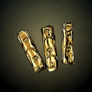 金条 - 这些在殖民地铸造、有数字的金条支持着西班牙国王发动昂贵战争。