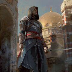 埃齐奥在君士坦丁堡的概念图