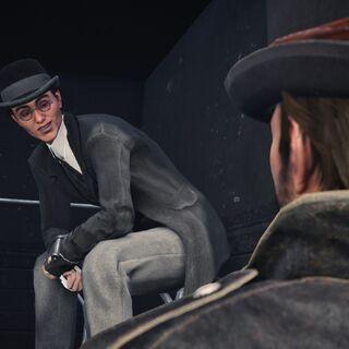 奈德被雅各布从囚车中救出