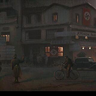 二战中的巴黎