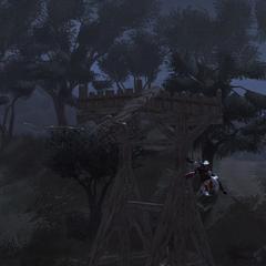 飞行器撞向瞭望塔