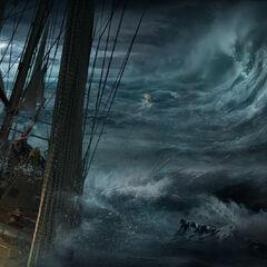 《完美风暴》,马克思·秦绘制