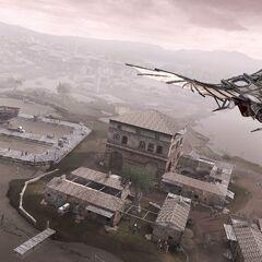 艾吉奧在佛利使用飛行器