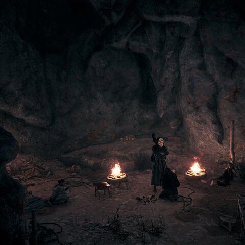 在秩序圣殿,布里松向贩夫跪地求饶