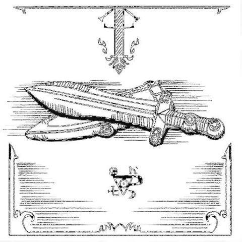 布鲁图斯匕首素描