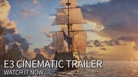 E3 Cinematic Trailer Assassin's Creed 4 Black Flag North America