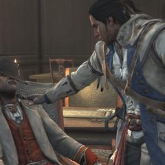 康納發現阿基里斯過世