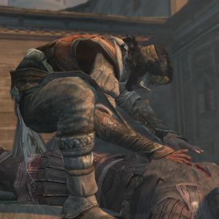 Yusuf vermoordt de Tempelier