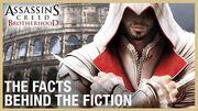 Assassin's Creed Brotherhood The Real History of Renaissance Rome Ubisoft NA