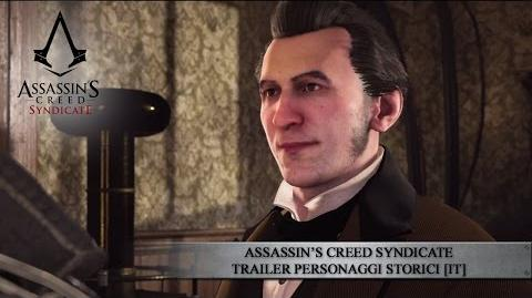Assassin's Creed Syndicate Trailer Personaggi Storici IT